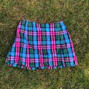 Urban outfitters plaid skirt!